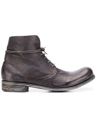 A Diciannoveventitre K6 Ankle Boots Grey