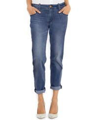 Levi's Straight Leg Cuffed Boyfriend Fit Jeans Sun Down Wash