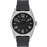 Tsovet Jpt Nt42 Black With Silver Bezel Watch