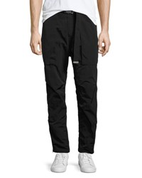 Helmut Lang Belted Nylon Trousers Black