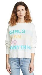 Zadig And Voltaire Girls Can Do Anything Sweatshirt Judo