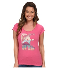Life Is Good Lightweight Crusher Tee Hot Pink Women's T Shirt