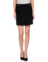 Blumarine Mini Skirts Black