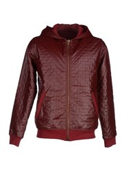 Jijil Coats And Jackets Jackets Men Maroon