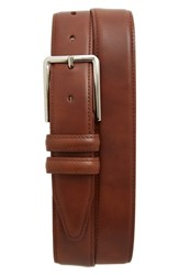 Nordstrom Men's Big And Tall Men's Shop Mercer Leather Belt Cognac