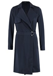 United Colors Of Benetton Trenchcoat Navy Dark Blue