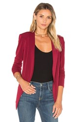 Bcbgeneration Open Front Jacket Red