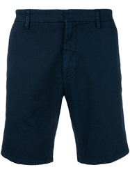 Dondup Fitted Shorts Blue