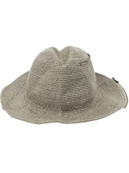 Ca4la Zip Detail Hat Grey