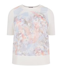 Basler Floral T Shirt Female White