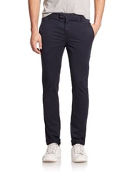J Brand Brooks Slim Pants Federal Blue Khaki Black