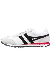 Gola Boston Trainers White Black