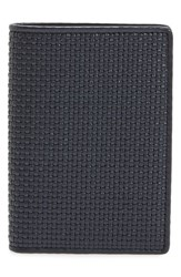 Ermenegildo Zegna Men's Woven Leather Wallet