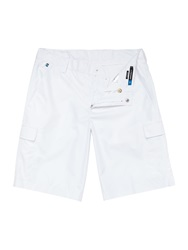 J Lindeberg Golf Lawrence Micro Twill Chino Shorts White