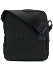 Hugo Boss Logo Messenger Bag Black