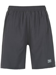 Track And Field Gym Shorts Grey