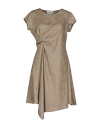 Joseph Ribkoff Short Dresses Grey
