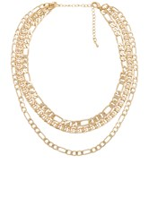 8 Other Reasons Moonchild Necklace Metallic Gold