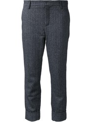 Closed 'Stewart' Cropped Trousers Grey