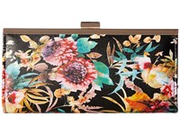 Jessica Mcclintock Laura Framed Clutch Floral Clutch Handbags Multi
