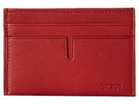 Tumi Chambers Slim Card Case Crimson Credit Card Wallet