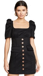 C Meo Collective Subscribe Dress Black