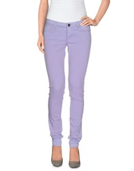 Guess Trousers Casual Trousers Women Lilac
