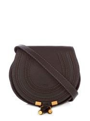 Chloe Marcie Small Leather Cross Body Bag Black