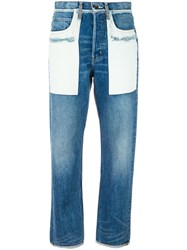 Helmut Lang 'Inside Out' Jeans Blue