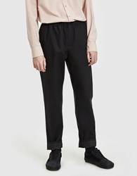 A Kind Of Guise Elasticated Wide Trousers Black