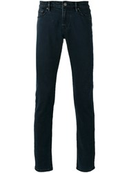 Burberry Branded Straight Jeans Blue