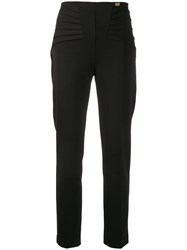 Class Roberto Cavalli High Waisted Trousers Black