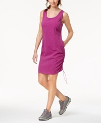 Columbia Anytime Casual Omni Shield Dress Intense Violet