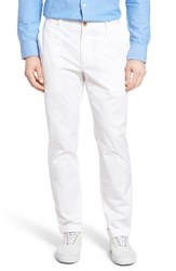 Vineyard Vines Men's Breaker Flat Front Stretch Cotton Pants White Cap