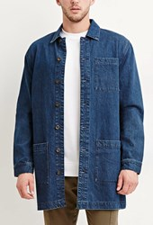 Forever 21 Longline Denim Jacket