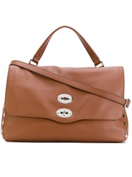 Zanellato Postina Tote Women Leather Metal One Size Brown