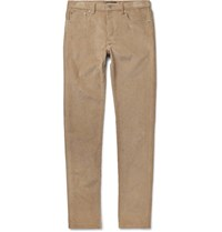 A.P.C. Petit New Standard Slim Fit Cotton Corduroy Trousers Beige