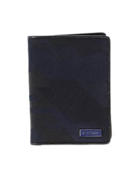 Dirk Bikkembergs Wallets Dark Blue