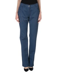 Historic Research Trousers Casual Trousers Women Dark Blue