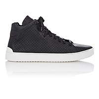 Rag And Bone Men's Perforated Kent High Top Sneakers Black Blue Black Blue