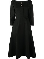 Rejina Pyo 'Mina' Long Sleeve Dress Black