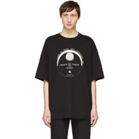 Lanvin Black 'Realm Of Chaos And Night' T Shirt