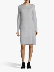 Betty And Co. Jersey Shift Dress Light Silver Melange