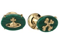 Vivienne Westwood Caetano Cufflinks Malachite Cuff Links Green