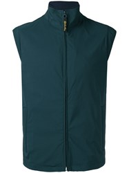 Loro Piana Golf Gilet Green