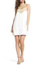 Lilly Pulitzer 'S Pearl Shift Dress Resort White
