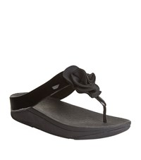 Fitflop Florrie Toe Post Sandals Female Black