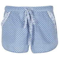 Cyberjammies Danielle Shell Print Shorts Blue