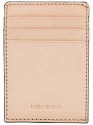 Norse Projects Bastian Wallet Nude Neutrals