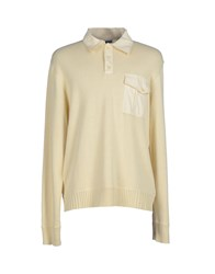 Timberland Knitwear Jumpers Men Ivory
